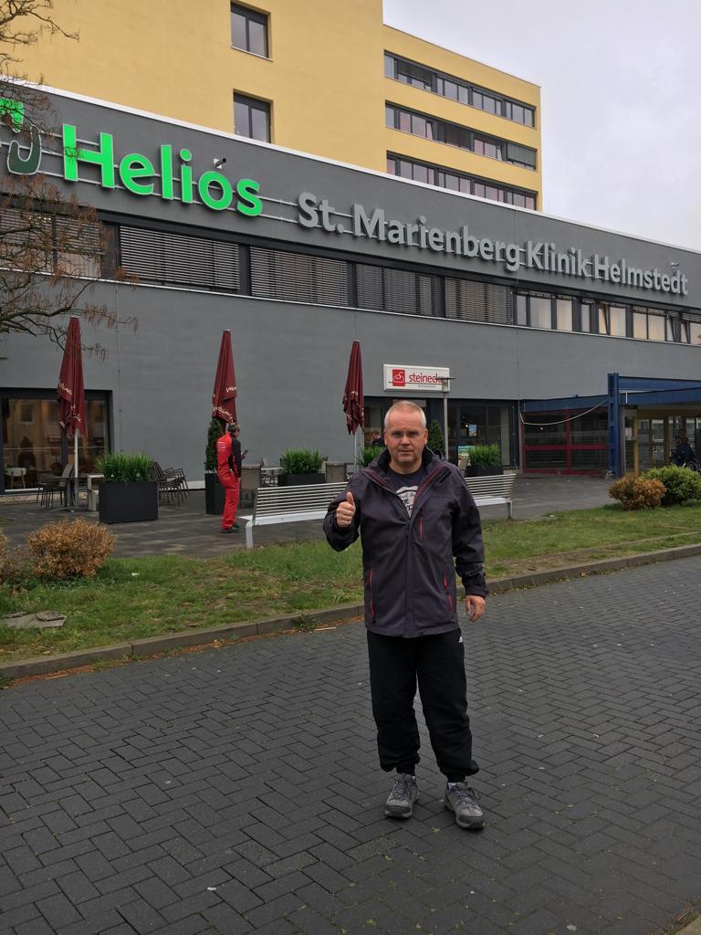 Heute habe ich das Helios Klinikum in Helmstedt verlassen.